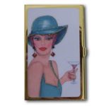 Las Vegas Style Business Card Holder