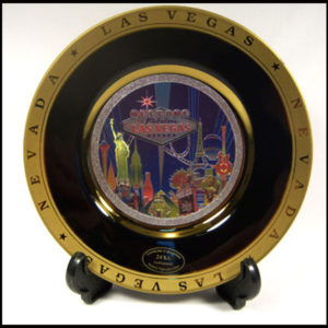 Las Vegas Laser Plate Collectible
