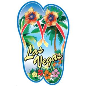 Las Vegas Flip Flops - Sticker